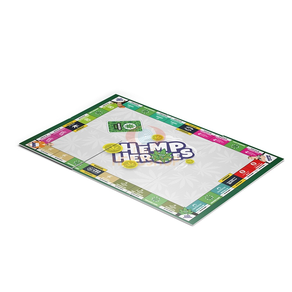 Hemp Heroes | Weed Board Game