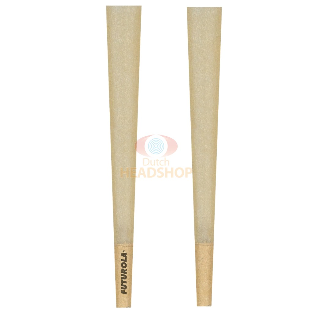 Cones King-Size Brown Joint Tubes (Futurola) 109 mm 1000 pieces