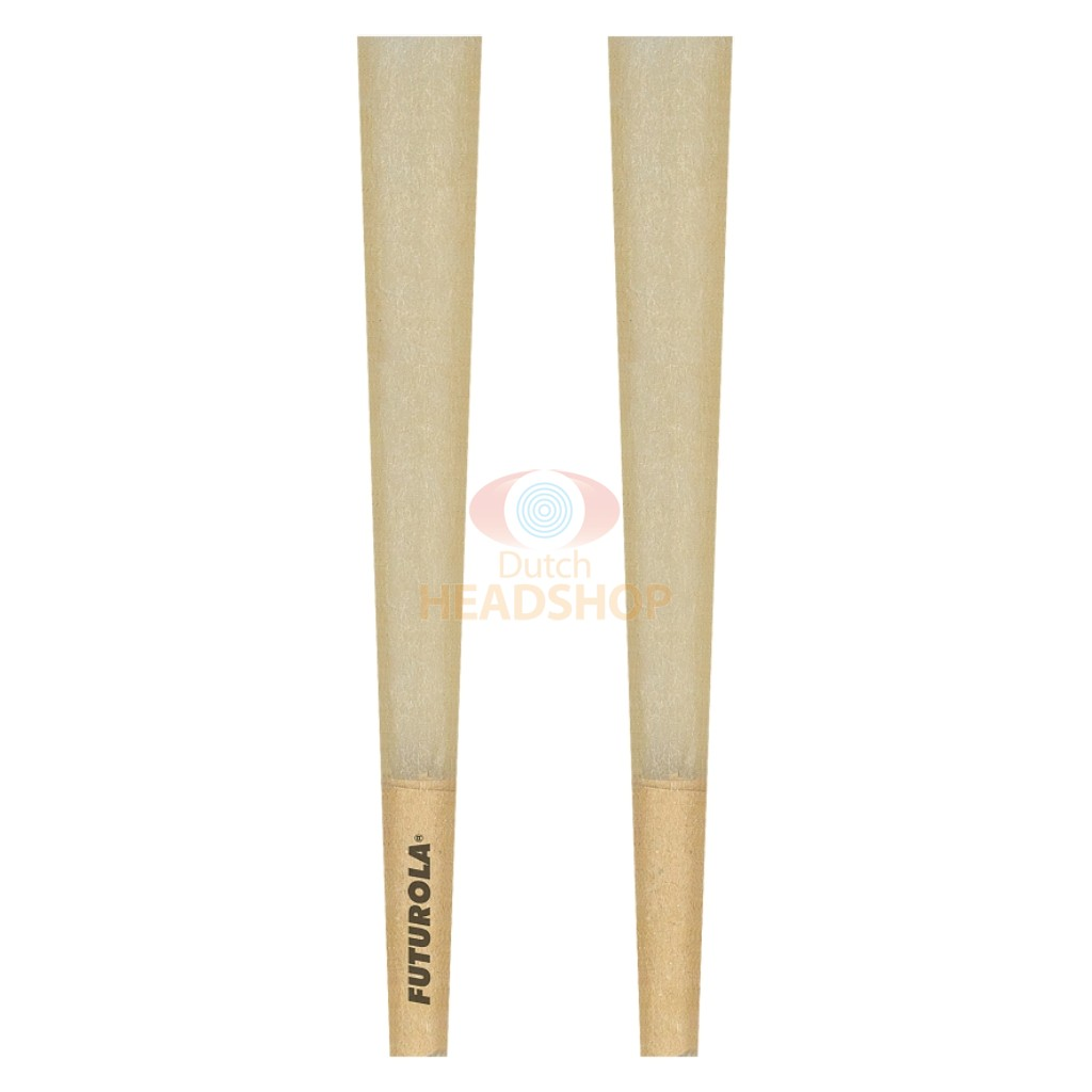 Cones Slim-Size Brown Joint Tubes (Futurola) 98 mm 800 pieces