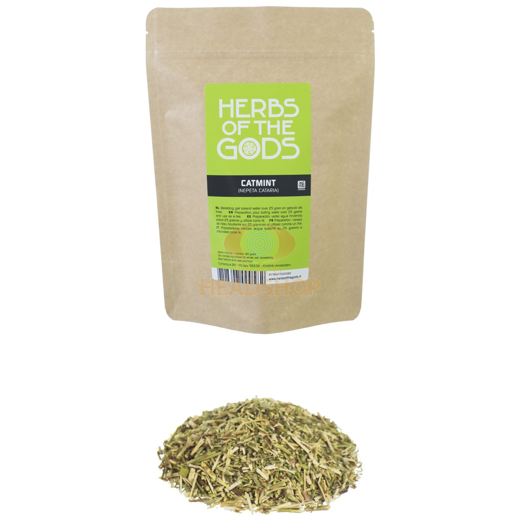 Catmint shredded [Nepeta cataria] (Herbs of the Gods) 80 grams