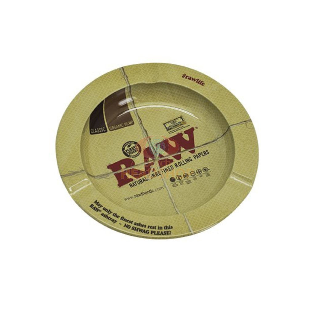 RAW round ASHTRAY