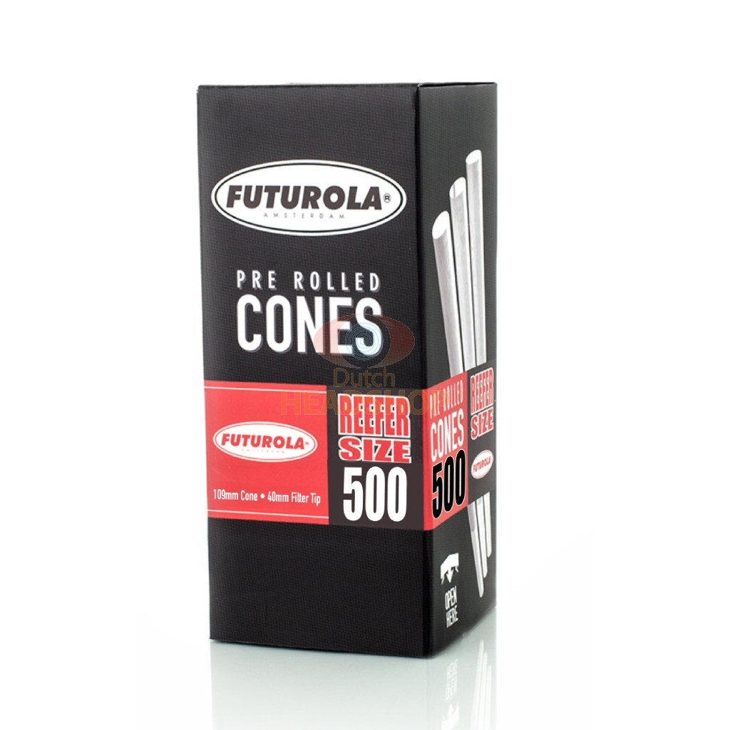 Cones Reefer-Size Joint Tubes (Futurola) 109 mm 500 pieces