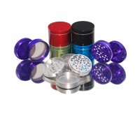 Aluminum Grinder 4 parts 56 mm