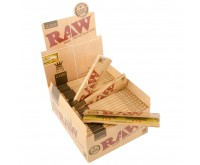 RAW Classic Papers Unbleached | King-Size Slim