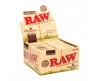 RAW Connoisseur Organic Hemp Papers and Tips | King-Size Slim