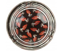 Glass Ashtray - Hotlips