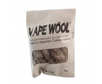 Degummed Hemp Fibre / Vape Wool (Black Leaf)