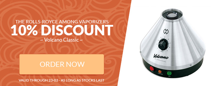 Volcano Vaporizer Classic on Offer Now